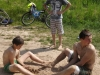 Išvyka dviračiai prie vandens telkinio